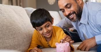 father and son money talk private vista