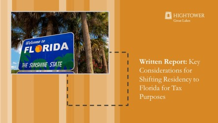 Key Considerations for Shifting Residency to Florida for Tax Purposes