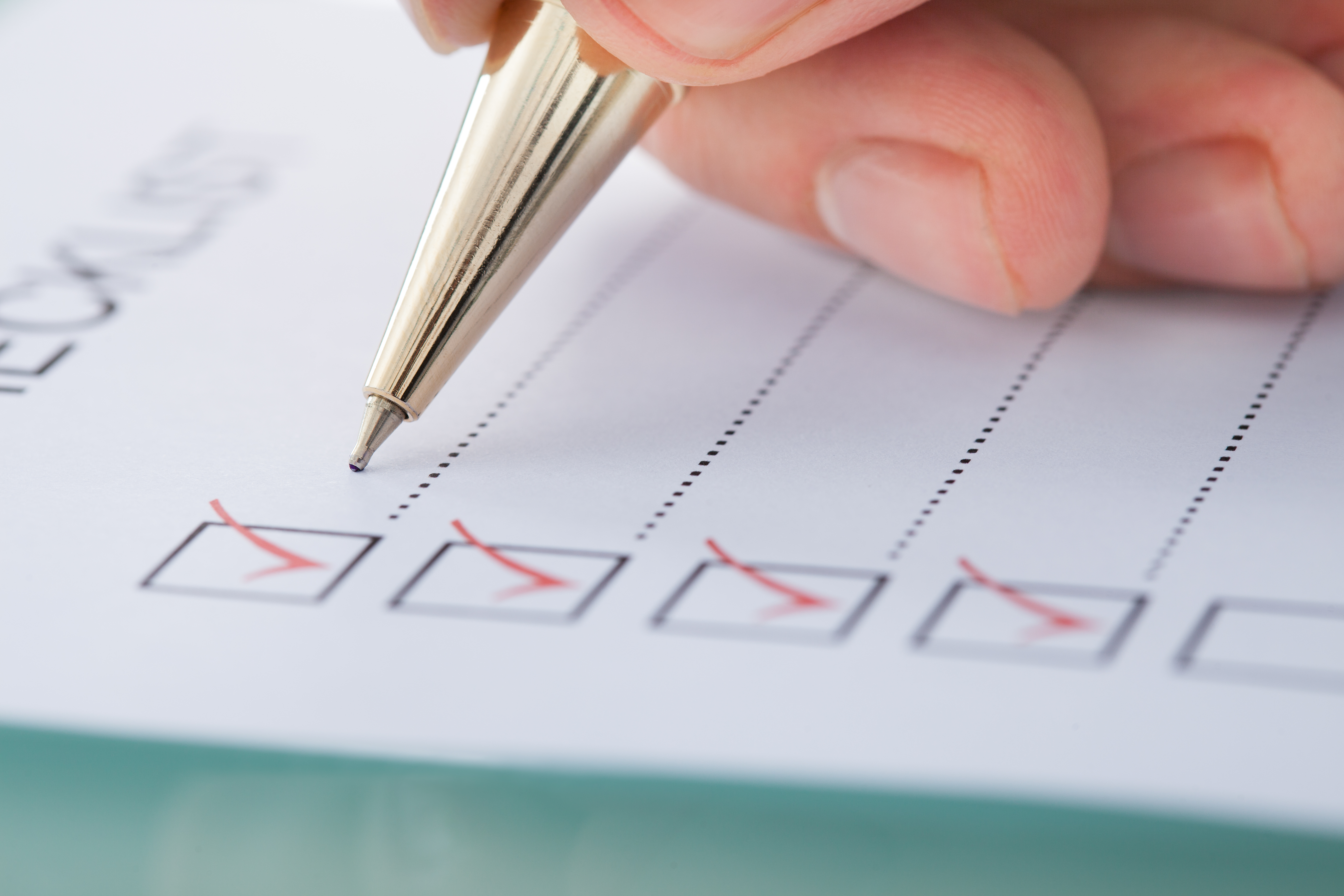 Financial Document Checklist
