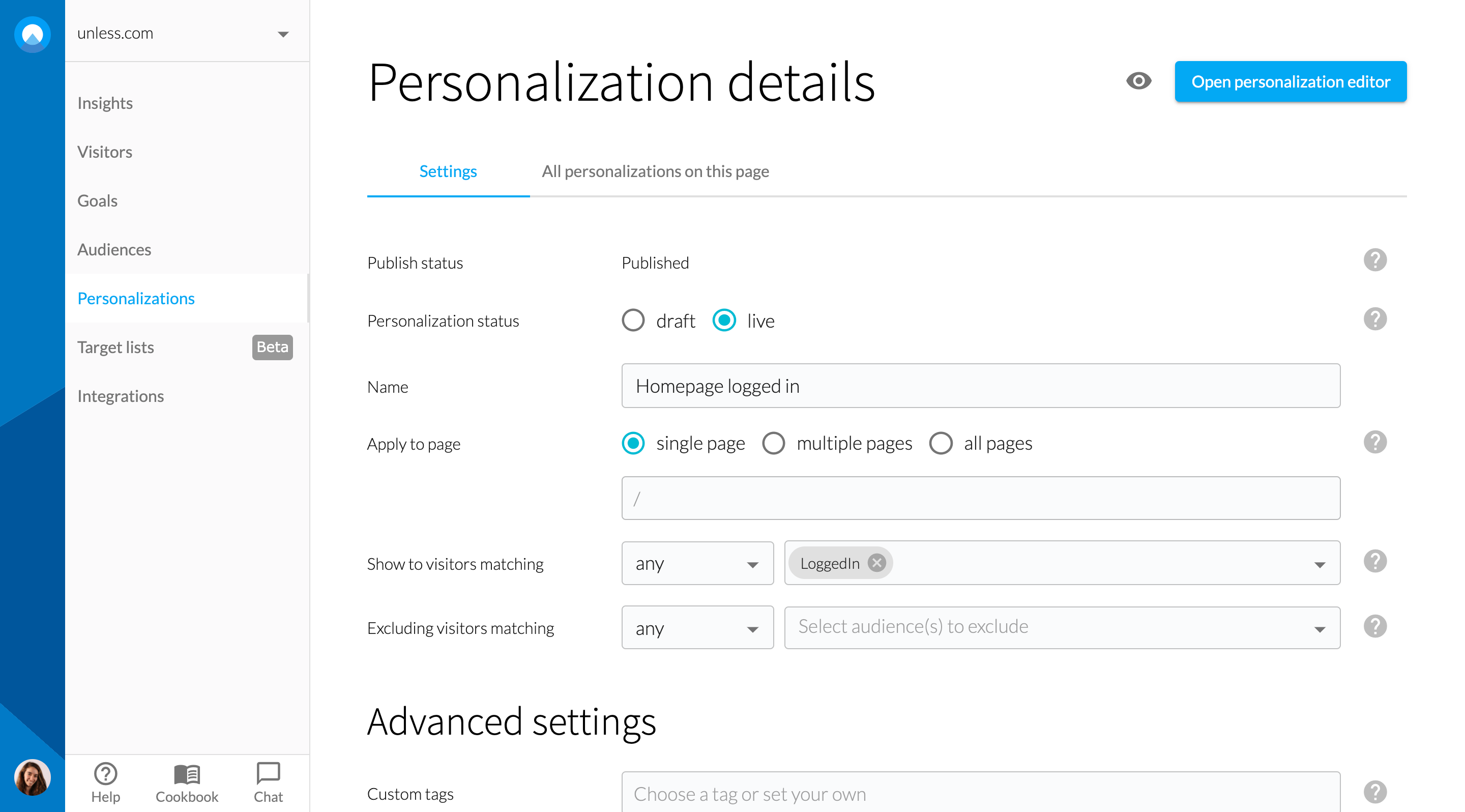 onsite-personalization-example
