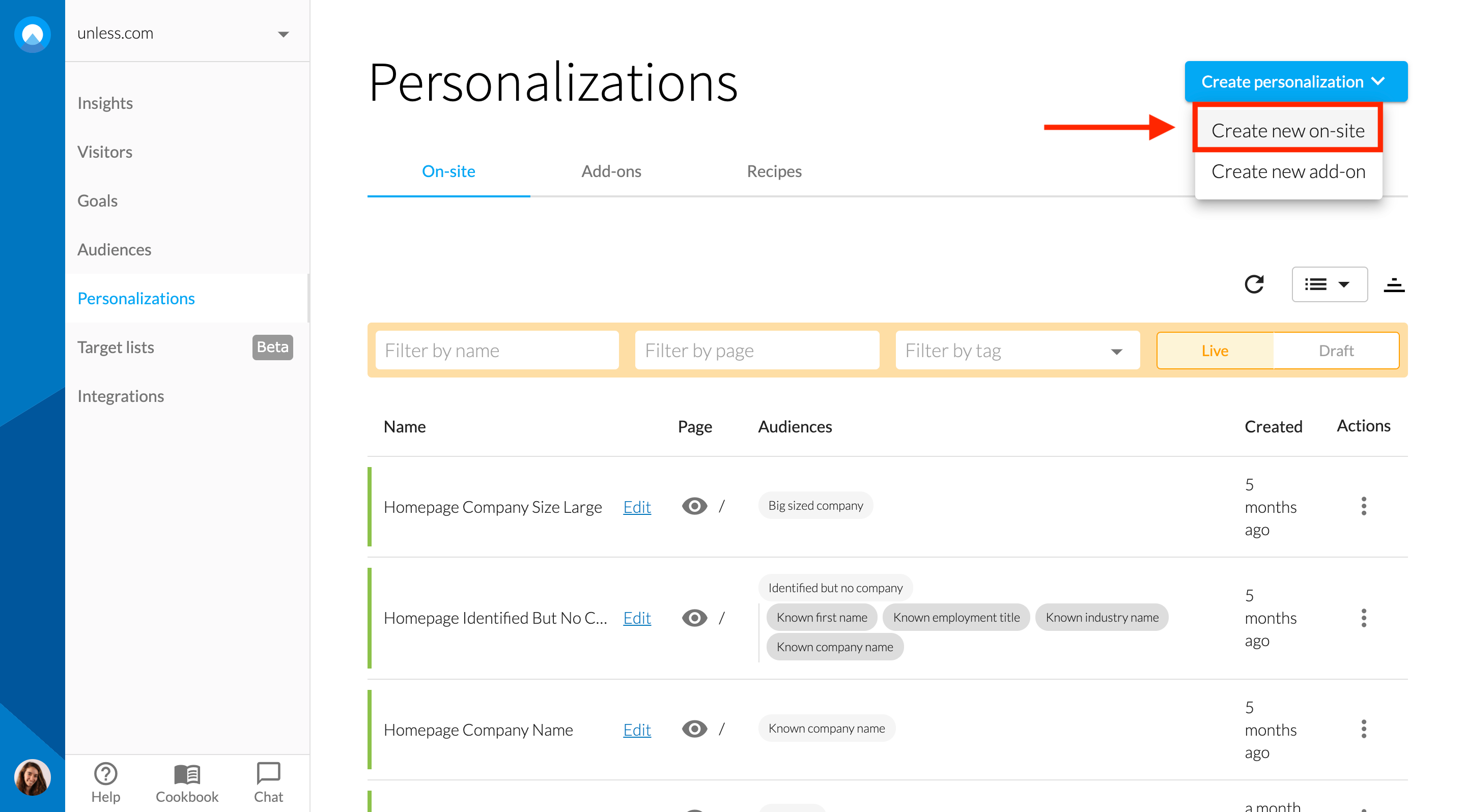 new-onsite-personalization
