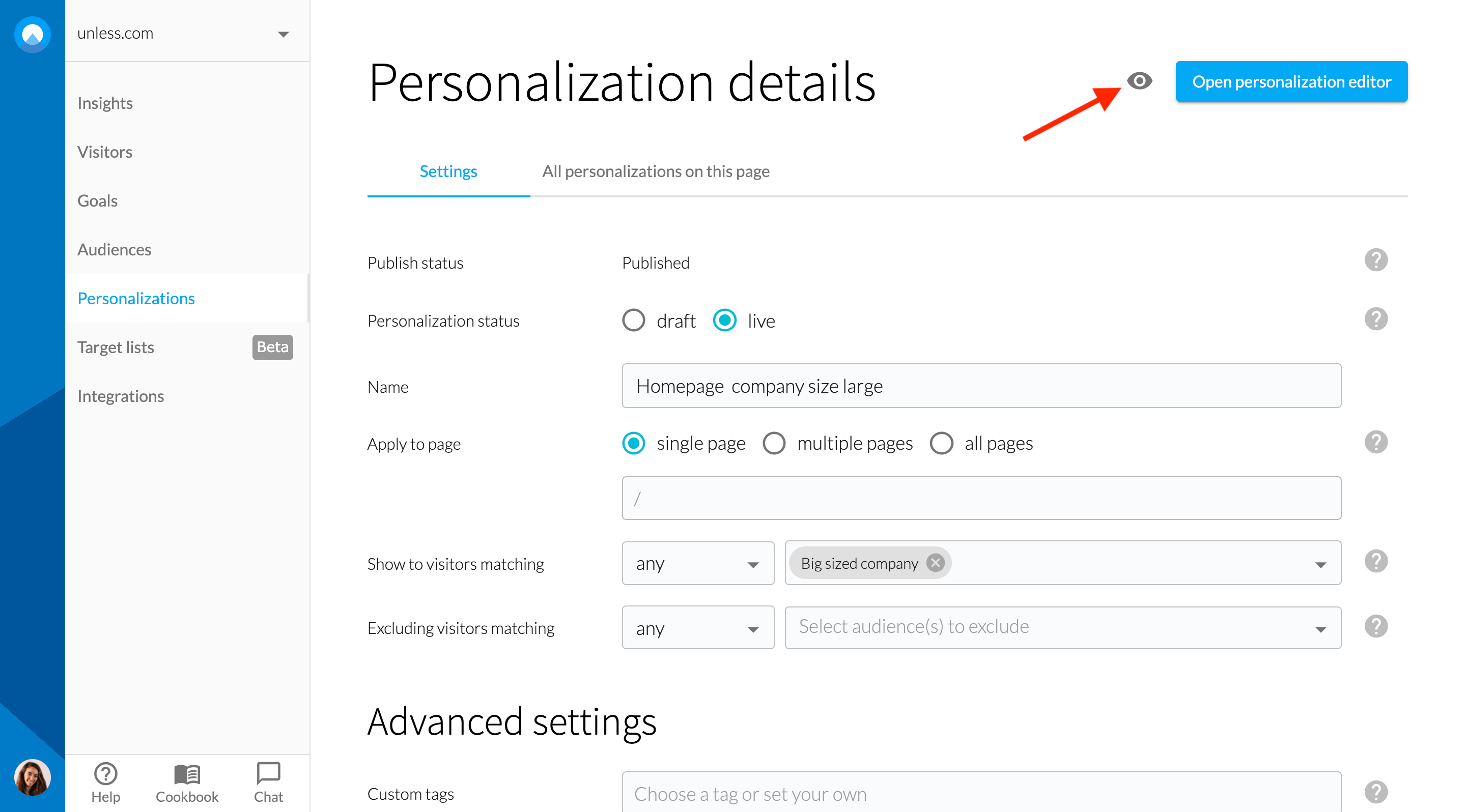 personalization-preview
