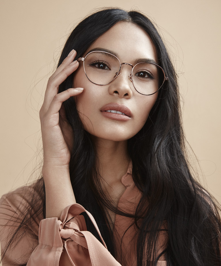 8947b2ebd7f2 Our well-loved nude-colored frames in a collection of on-trend eyewear are  sure to flatter every skin tone.