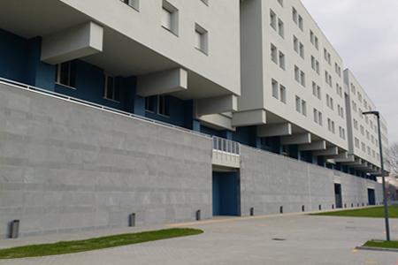 Gallaratese, residenze Politecnico a San Leonardo – foto Urbanfile