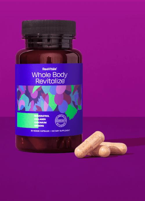 Whole Body Revitalize pill bottle