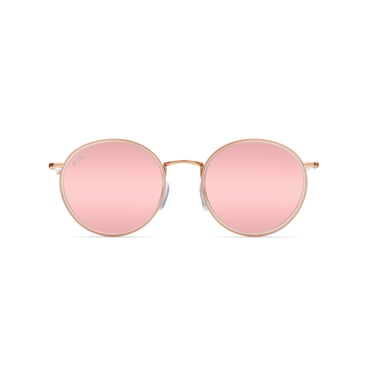 Sonnenbrille Amsterdam All Pink Mirrored