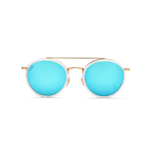 Bali Pearl Blue Mirrored