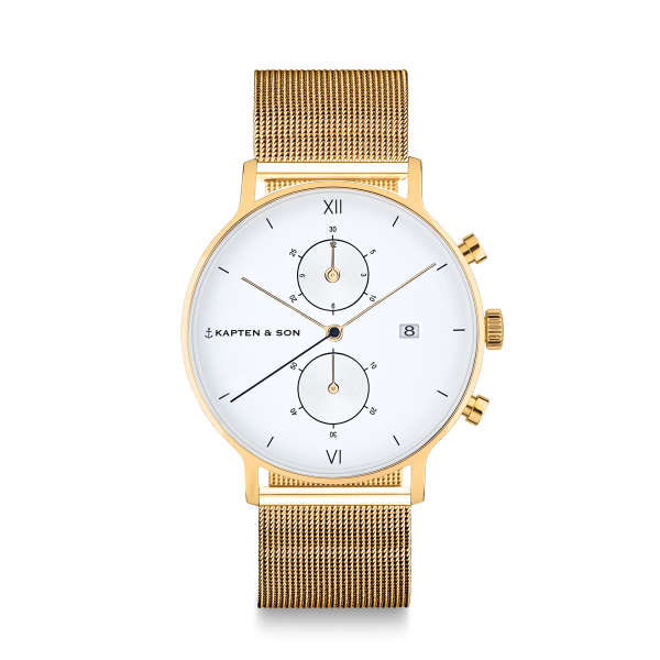 "Chrono Gold ""Mesh"""