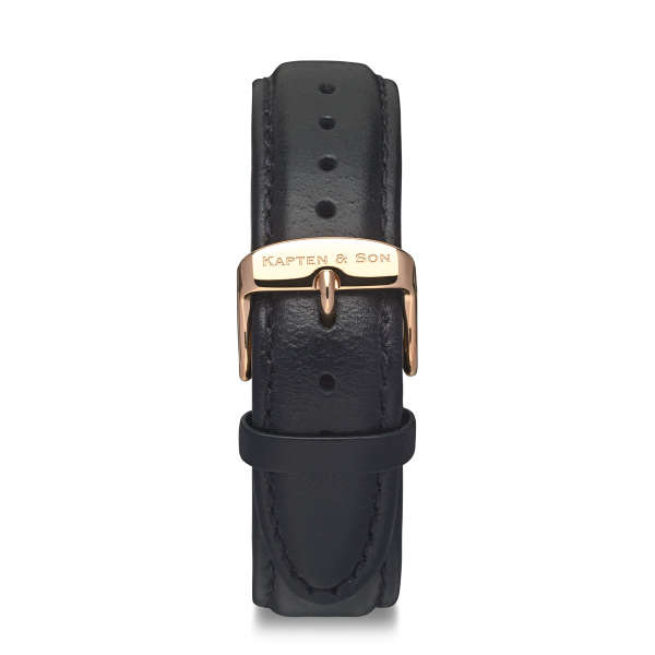 "Leather Strap ""Black Leather"""