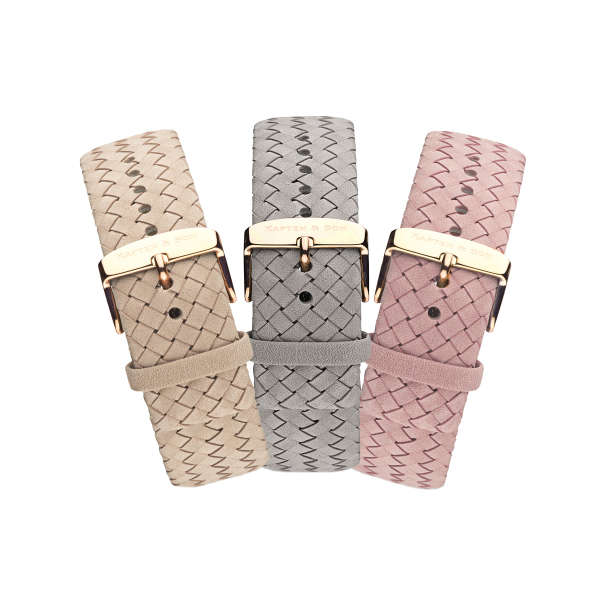 """Set """"Woven Collection"""" Campus Rosegold"""