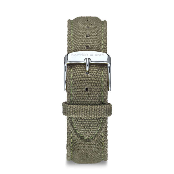"""Canvas Strap """"OLIVE"""""""
