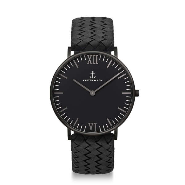 Campus Black Midnight Woven