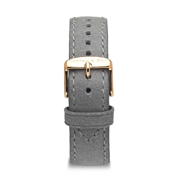 "Leather Strap ""Grey Vintage Leather"""