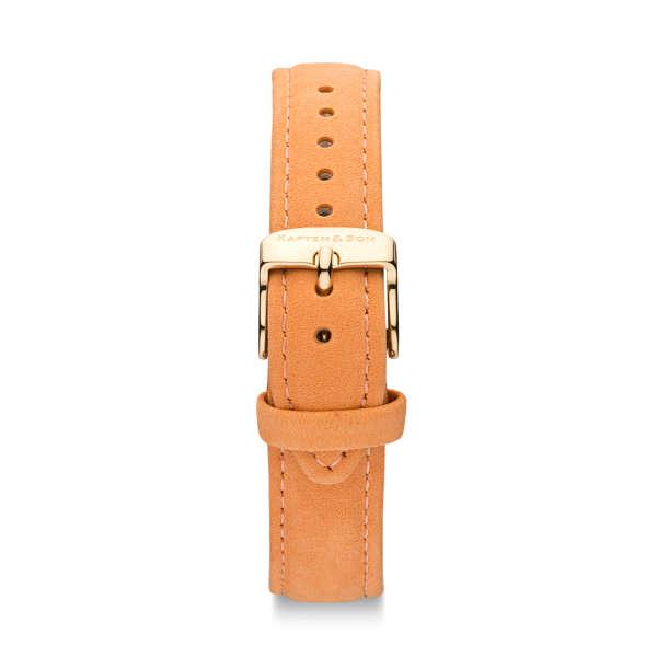 "Leather Strap ""Peach Velvet Leather"" Joy"