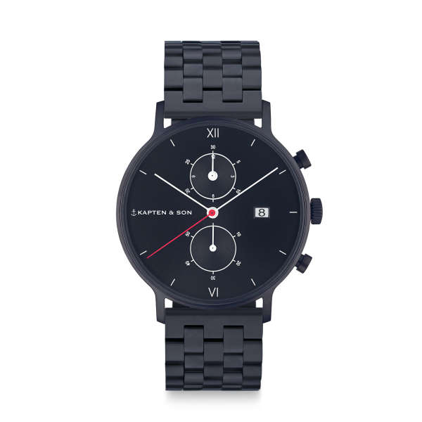 "Chrono ""Black Midnight Steel"""