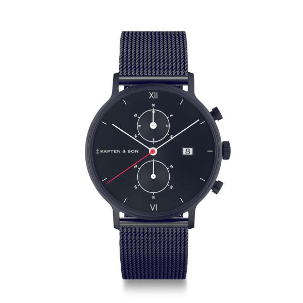 "Chrono Black ""Midnight Mesh"""