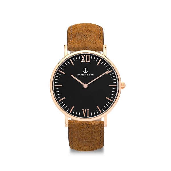 "Campina ""Black Brown Vintage Leather"""