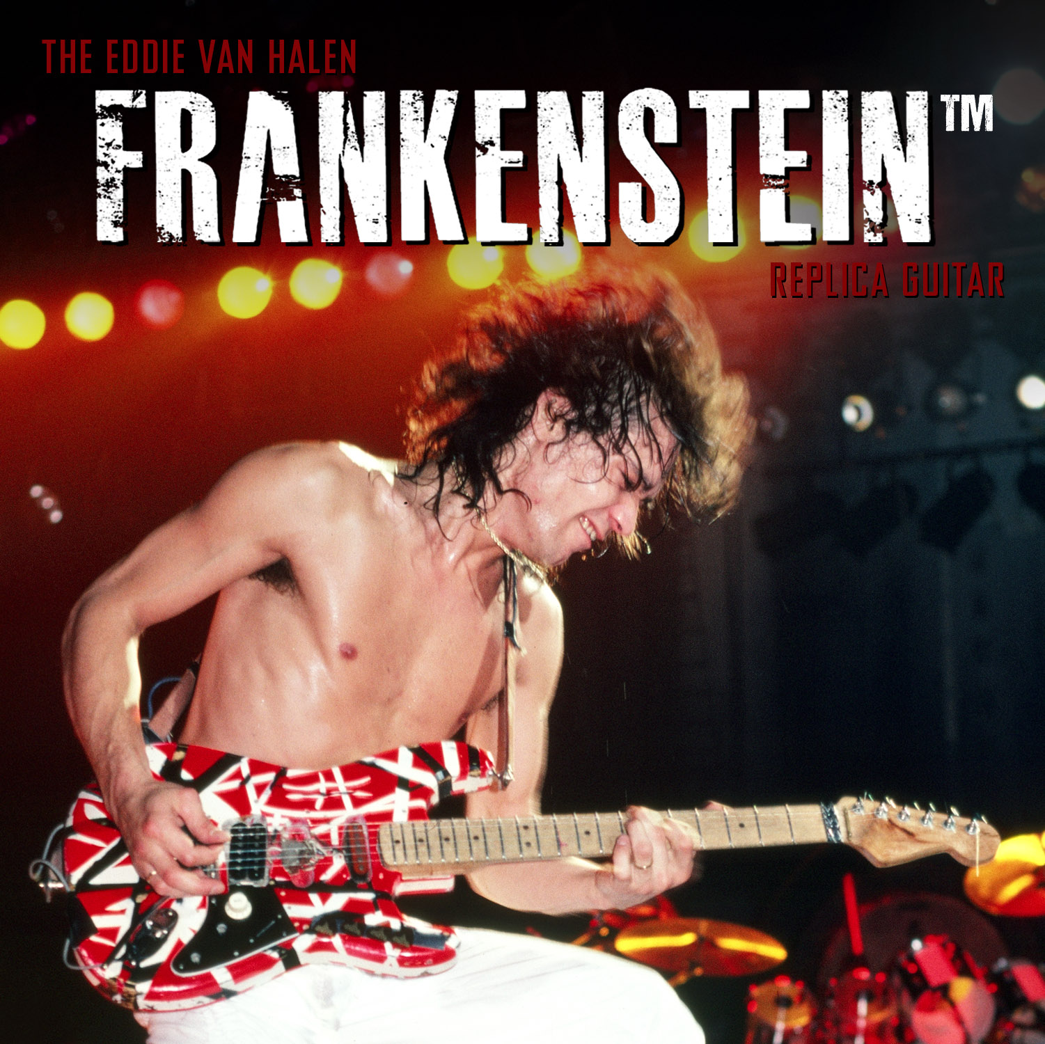 Eddie Van Halen and the Frankenstein™ Replica Guitar