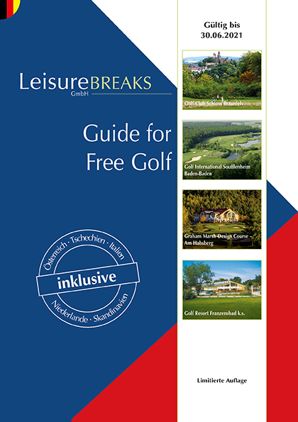 LeisureBREAKS Guide for Free Golf 2020/2021