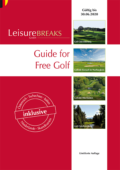 LeisureBREAKS Guide for Free Golf 2019/20