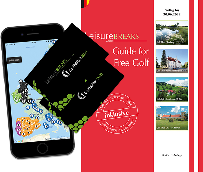 Paket - LeisureBREAKS Guide for Free Golf + 2 x LBGH 2021