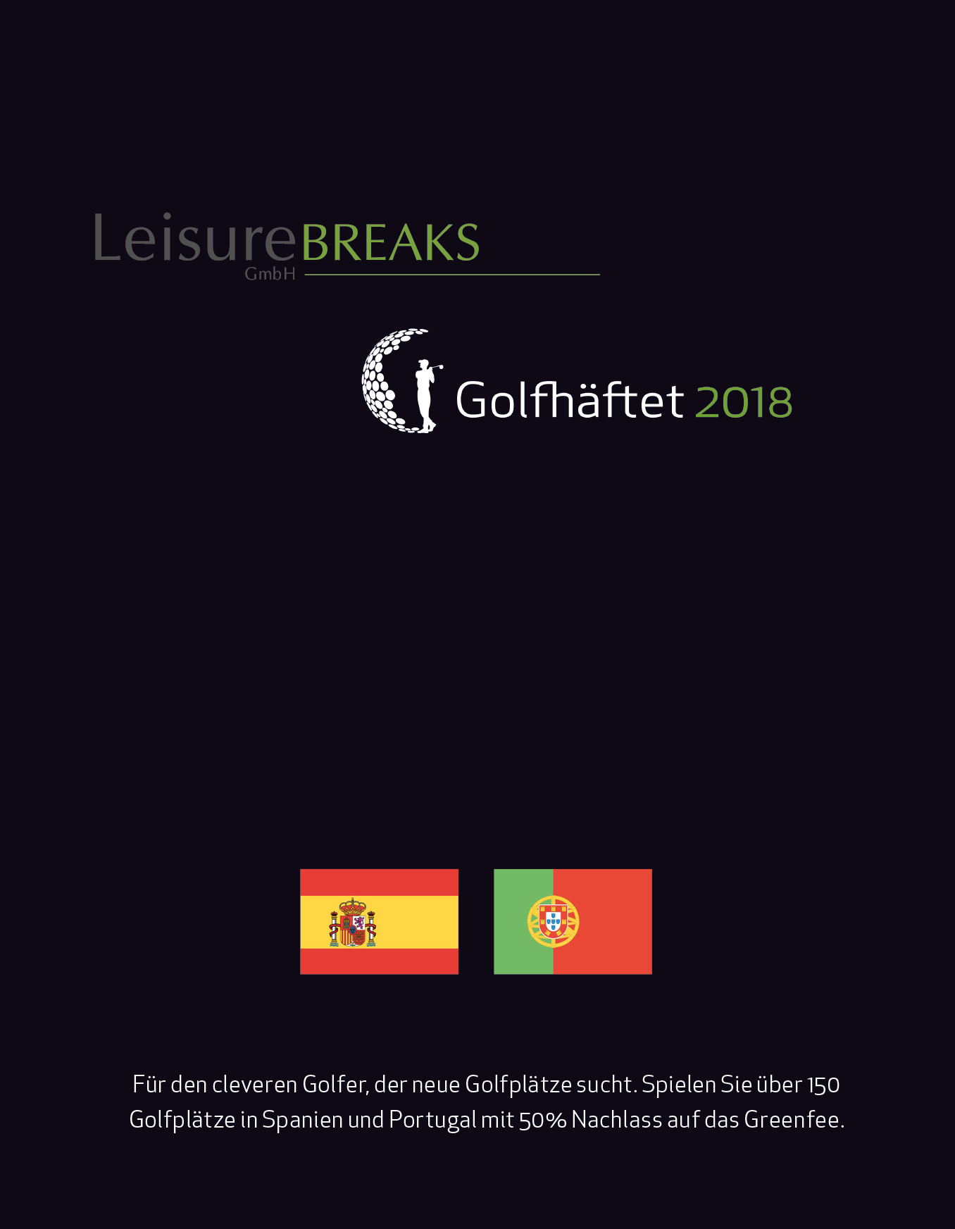 LeisureBREAKS Golfhäftet 2018