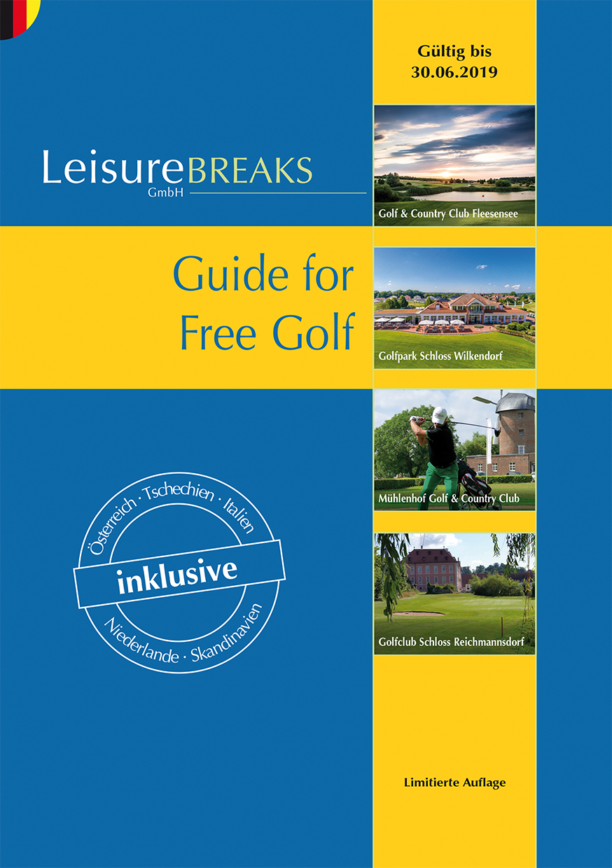 LeisureBREAKS Guide for Free Golf 2018/19 (Restexemplare Abverkauf)