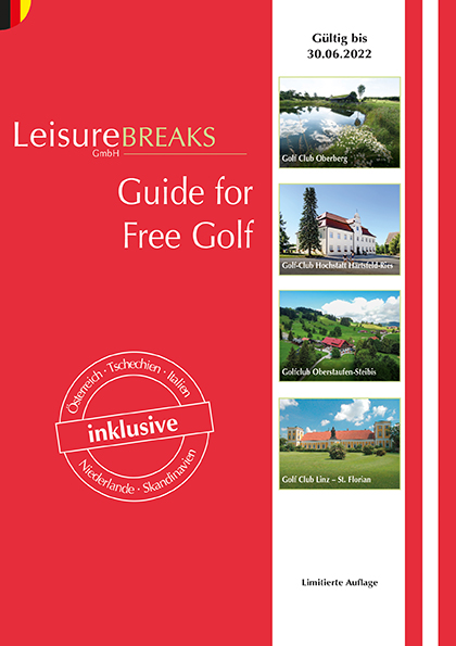 LeisureBREAKS Guide for Free Golf 2021/2022