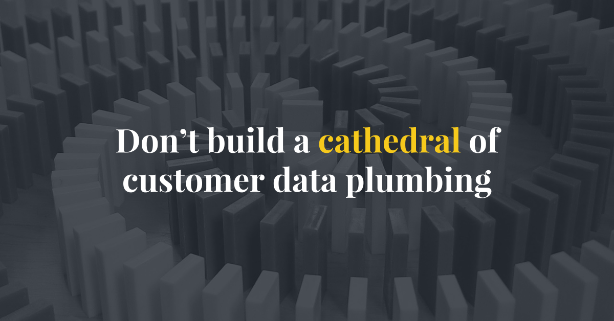 Hull - Cloud Orchestration - Don't build a cathedral of customer data plumbing