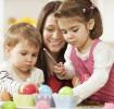 Artesanatos de páscoa para crianças pequenas