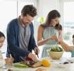 Cozinhando com as crianças