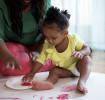 Ideias de artesanato para crianças pequenas