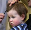 Primeiro corte de cabelo do bebê