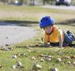 Cuidando de ferimentos em crianças