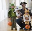 Artesanato de halloween para crianças pequenas