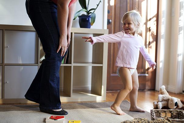 Controlando uma criança ativa