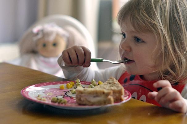 Alimentação saudável para crianças pequenas