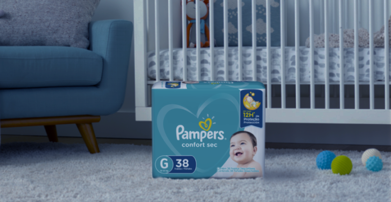 Pampers® Confort Sec™