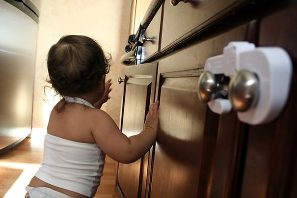 Segurança contra queimaduras para crianças