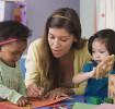 Aprendendo brincando com outras crianças