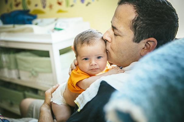 Pai e Filho - criando vínculo com seu bebê