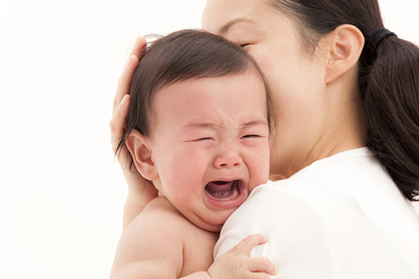 Saiba como acalmar um bebê chorando