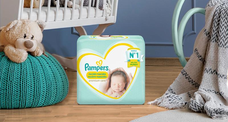 Pampers® Recém-Nascido Premium Care