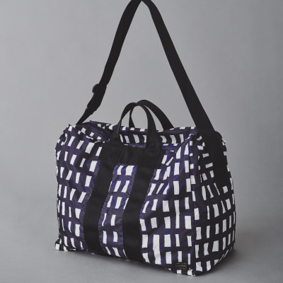 travel series -sora check-2WAY DUFFLE BAG