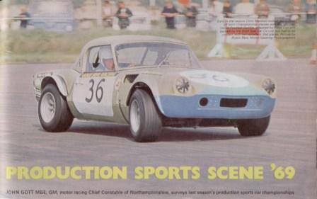 Later in the car's racing career when it acquired its blue nose.