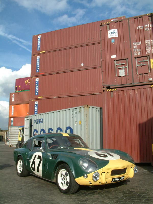 ADU 4B as revealed when removed from container at Felixstowe after arrival in the UK from the USA in 2004. Picture courtesy of James Carruthers