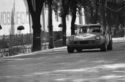 Servicing at the Mugello Circuit 1969