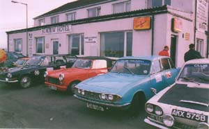 Round Britain Reliability Run 2000 - 7.00am Saturday - Breakfast John O'Groats