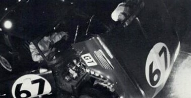 ADU 4B Sebring 1965 Pit Stop Picture courtesy David E Feuerhelm David's father Duane drove 4B at Sebring in 1965