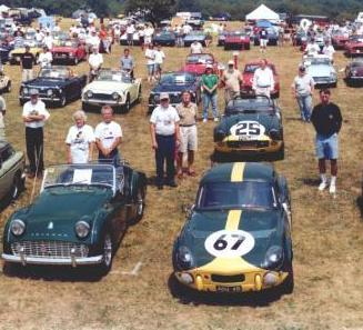 ADU 4B in the USA in 2002 whilst in the custodianship of Vern Brannon (929 HP Le Man TRS behind) Picture courtesy of Howard Baugues